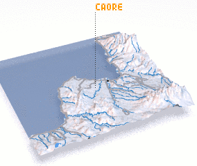 3d view of Caore