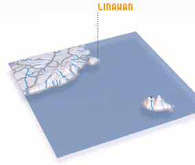 3d view of Linawan