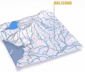 3d view of Balisuan