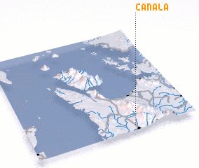 3d view of Canala