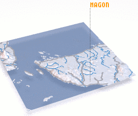 3d view of Magon