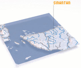 3d view of Sinantan