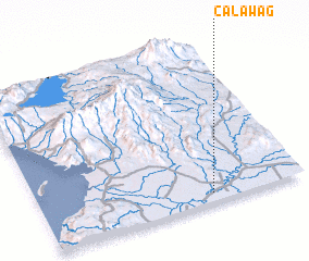 3d view of Calawag