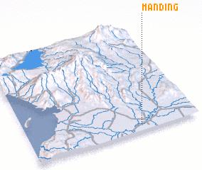 3d view of Manding