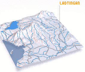 3d view of Ladtingan