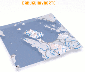 3d view of Baruguhay Norte