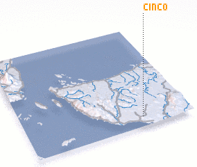 3d view of Cinco