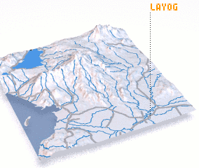 3d view of Layog