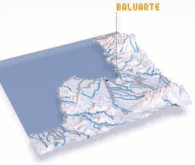 3d view of Baluarte