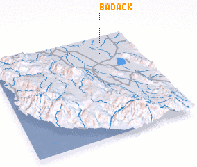 3d view of Badack