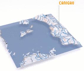 3d view of Canigao