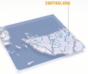 3d view of Santa Elena