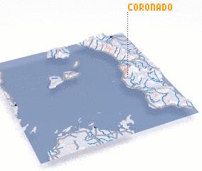3d view of Coronado
