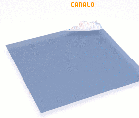 3d view of Canalo