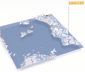 3d view of Gawisan