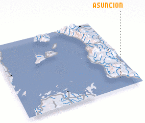 3d view of Asuncion