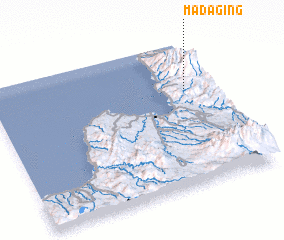 3d view of Madaging