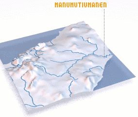 3d view of Manumutiumanen