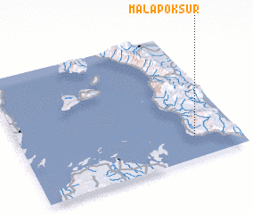 3d view of Malapok Sur