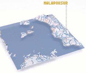 3d view of Malapok Sur