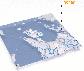 3d view of Losong