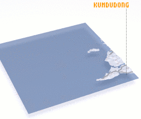 3d view of Kŭmdu-dong