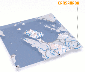 3d view of Cansamada