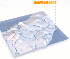 3d view of Manubai Barat