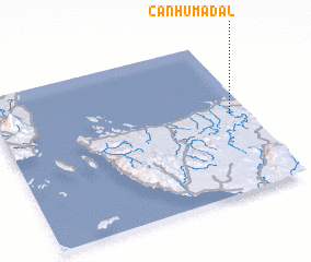 3d view of Canhumadal