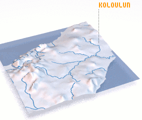 3d view of Koloulun
