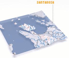 3d view of Santa Rosa