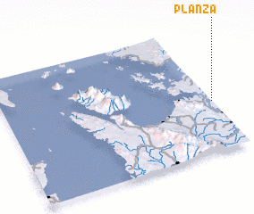 3d view of Planza