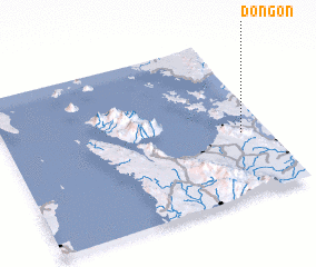 3d view of Dongon