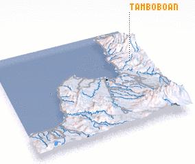3d view of Tamboboan