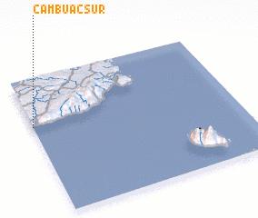 3d view of Cambuac Sur