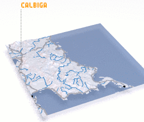 3d view of Calbiga
