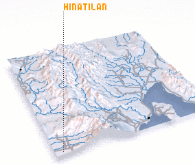 3d view of Hinatilan