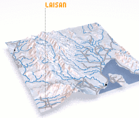 3d view of Laisan