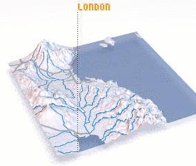 3d view of London