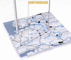 3d view of Kuhyŏn-dong