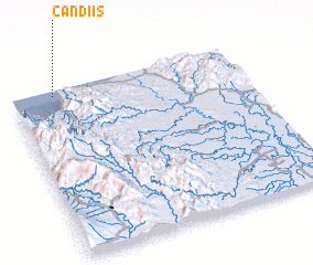 3d view of Candiis