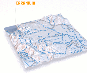 3d view of Caramilia