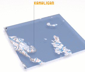 3d view of Kamaligan