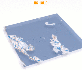 3d view of Mahalo
