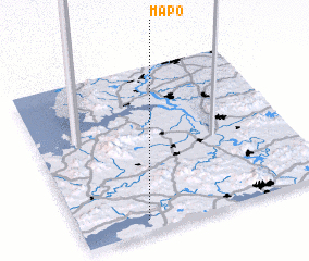 3d view of Map\