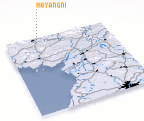 3d view of Mayang-ni
