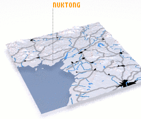 3d view of Nŭk-tong