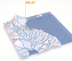 3d view of Haley
