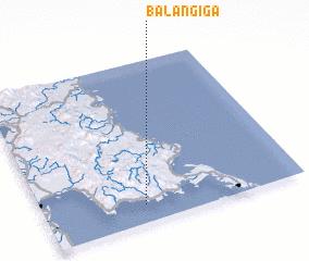 3d view of Balangiga