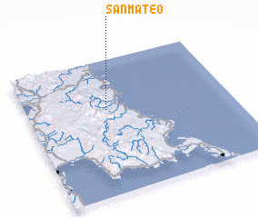 3d view of San Mateo